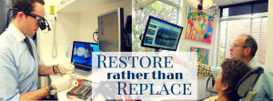 restore rather than replace